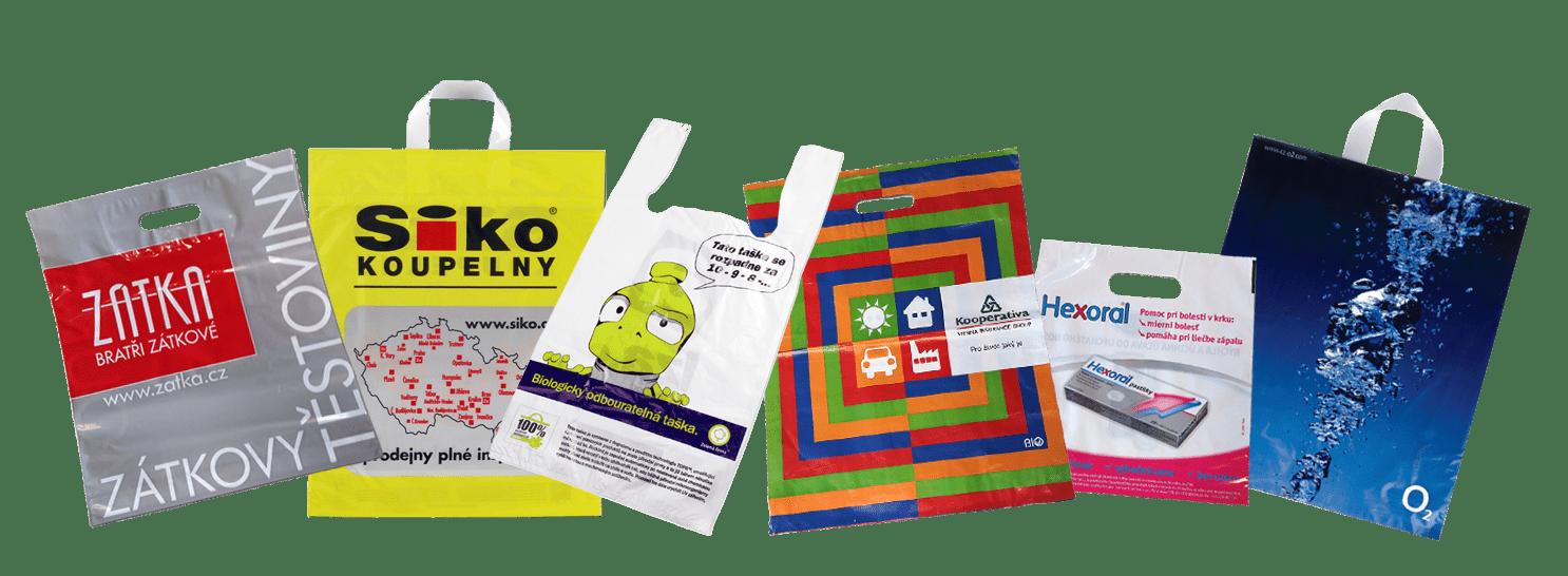 ekologické plastové tašky